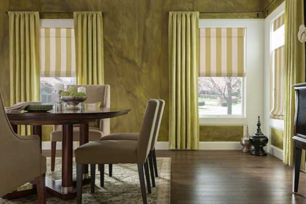 RomanShades and Drapery - Zebrablinds.com
