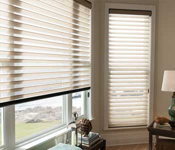 Motorized blinds aShangri-La-Sheer-Shades - Zebrablinds.com