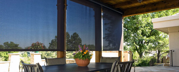 Exterior: The Magic Weaves Of Solar Shades By Phifer
